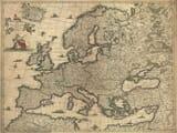 Antique Map Europe