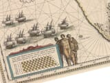Detail from an Old Map of Cape Horn