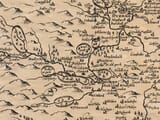 Detail from an old map of Durham