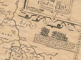 Detail from an old map of Flintshire