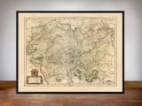 Famed Map of Luxembourg