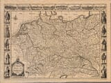 Old Map of Germany