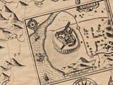 Harlech Castle early illustration