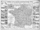 Old French Road Map