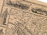 Detail from old Hungary map
