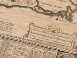 Detail from an old map of Bermuda