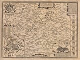 Old Map of Leicester