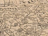 Detail from an old map of Middlesex
