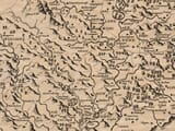 Detail from an old map of Monmouthshire