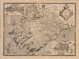 An old map of Mounster Ireland