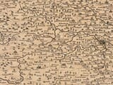Detail from an old map of Norfolk