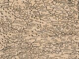 Detail from an old map of Northumberland