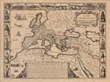 Old Map of the Roman Empire
