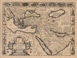 Old Map of Turkey