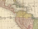 Americae Mappa Generalis by Homann Detail