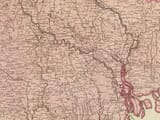 Old Map Bengal detail