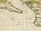 Detail from an Old Map of California