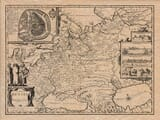 Old Map of Russia