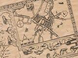 Old Town Plan of Lichfield