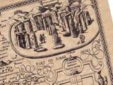 Old Stonehenge Illustration