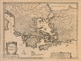 Old Map of Greece