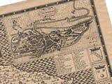 Old Town Plan Norwich