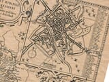 Old Town Plan of York