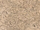 Detail from an old map of Shropshire