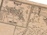 Old Town Plan of Oakham