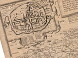 Old Town Plan of Chichester