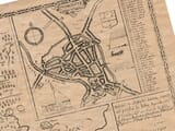 Old Town Plan of Worcester