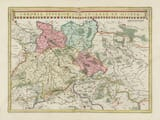 Old Map Saxony