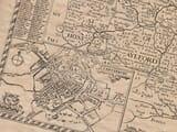 Old Town Plan of Canterbury