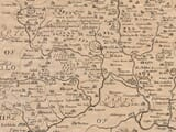 Detail from an old map of Oxfordshire