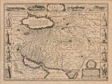 Old Map of Persia