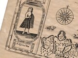 Detail from an old map of Scotland