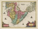Old Map of Stavanger - Norway