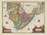 Old Map of Stavanger - Norway
