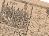 Detail from an old map of Surrey