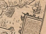 Detail from an old map of Sussex