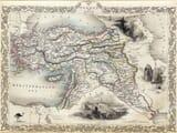 Old Map Turkey & Asia