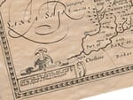 Detail from an old map of Yorkshire