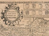 Detail from an old map of Yorkshire North & East Ridings