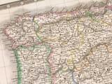 Detail from an old map of Andorra