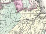 brazil map detail