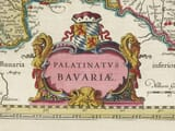 Detail from Old Map of Bavaria