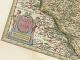 detail from old map of bohemia