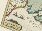 Detail from old map of Crimea