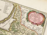 Detail from an old map of Prussia