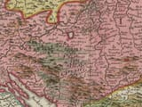 Detail from old map of Servia